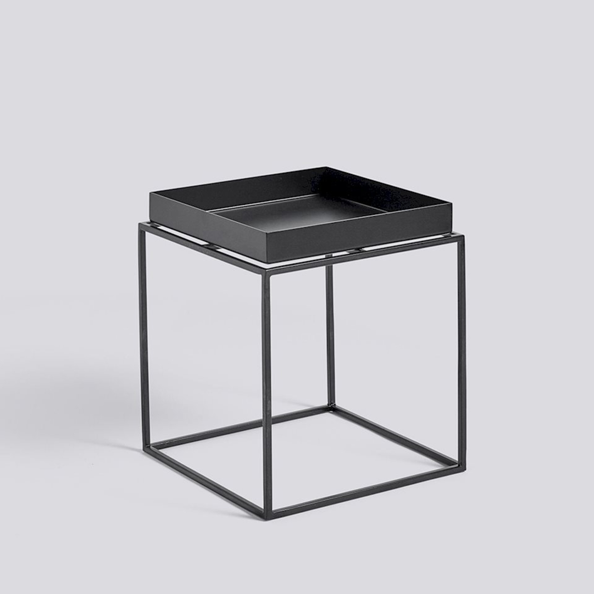 Hay Tray Table Black
