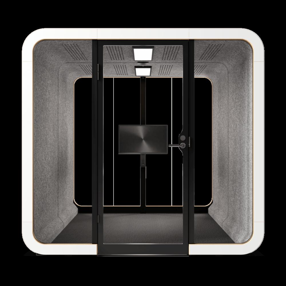 Framery 2Q White Front Empty 1000X1000